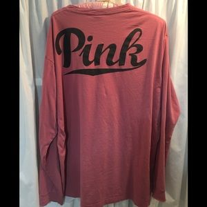 VS PINK Oversized Lounge Shirt in Large